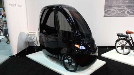 Compact Electric Trikes - The Virtue Pedalist is a Hybrid Between a Cargo Trike and a Pedal Car