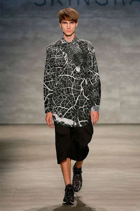 Monochromatic Urban Menswear - The Latest SKINGRAFT Collection Marries Aesthetics with Practicality