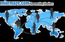 Senior Social Networking Sites - SeniorMaze Helps Seniors Connects With Others Their Age