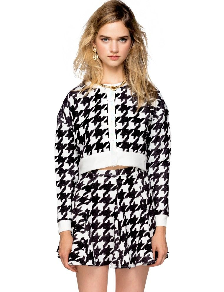 20 Chic Houndstooth Fashions