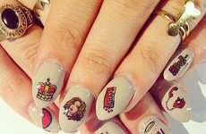 Cartoon Popstar Manicures - Adorn These Nail Stickers in Honor of the Beyonce Pregnancy Rumors