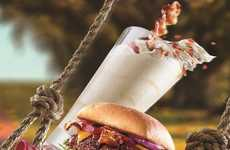 Boozy Bacon Milkshakes - Red Robins Will Be Offering a Limited Edition Bacon Bourbon Caramel Shake