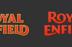 Vintage Motorcycle Rebranding - This Royal Enfield Logo Modernizes the Motorcycle Company's Brand