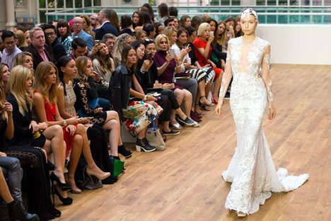 Opulent Wedding Dresses - Julien Macdonald's Mermaid-Inspired Gown is Priced at 6.5 Million Dollars