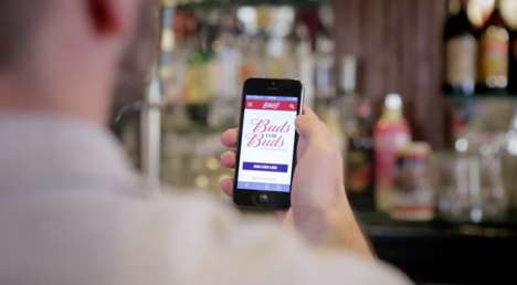 Beer-Gifting Apps - Budweiser's Buds for Buds App Lets You Send Out a Beer for Friends