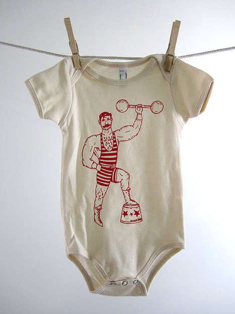 Artful Infant Apparel - Etsy's Oh Little Rabbit Shop Boasts Printed Baby Onesies