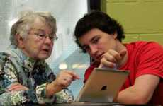 Intergenerational Learning Programs - The Learner Link Lets Seniors & Teens Learn From Each Other