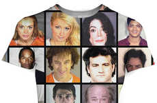 Celebrity Mugshot Shirts