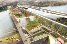 Elevated Urban Parks - 11th Street Bridge Park Will Be the First Elevated Park in Washington DC