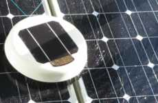 Solar Panel-Scrubbing Robots - Scrobby is an Autonomous Robot That Can Clean Domestic Solar Panels