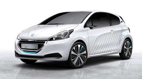 Air-Fueled Cars - The Peugeot 208 Hybrid 2L Car Has a Gasoline-Air Powertrain