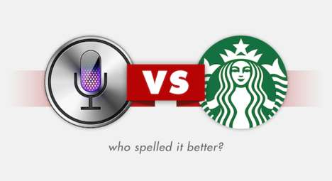 Comparative Fail Blogs - Siri vs. Starbucks Discovers Which of the Two Makes Worse Spelling Mistakes