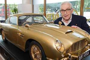 This Miniature Aston Martin DB5 Q Branch is Being Auctioned For Charity