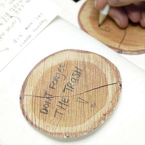 Tree Sticky Notes - These Creative Notepad Designs are Perfect for the Environment Enthusiast