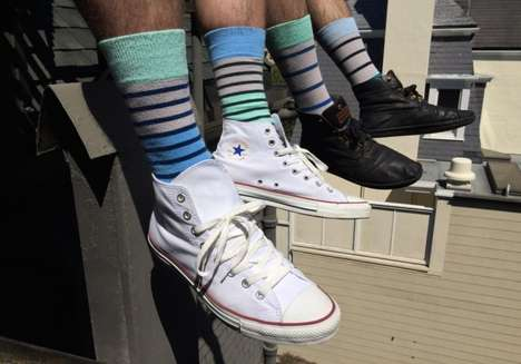 Blindness Fighting Socks - This Startup is Taking on Preventable Blindness with Mismatched Socks