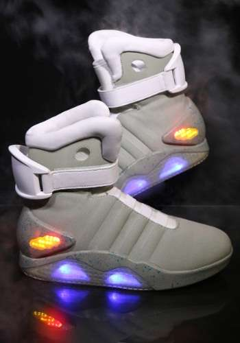 Cult Classic Footwear - The Back to the Future Shoes are Perfect for a Marty McFly Halloween Costume