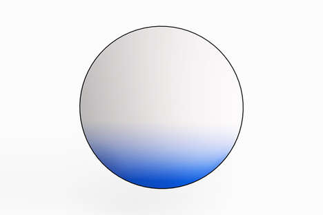 Gradient Mirror Designs - Phillip Jividen Replicates the Sky with This Item