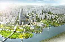 Futuristic Eco Cities - Binhai Eco City Could Be Powered Entirely By Renewable Energy
