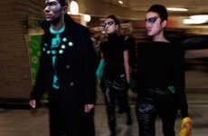 Supermarket Aisles as Catwalks