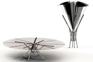 The Destalt Umbrella Table