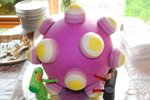 The Katamari Wedding Cake