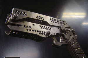 The Silver Wolf Full Metal Rubber Band Gun