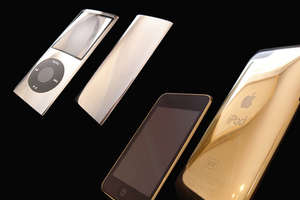The 24K Gold iPod and iPhone