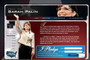 PrayForSarahPalin.com
