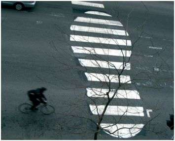 Road Graffiti - Roadsworth Makes Zebra Crossings More Fun