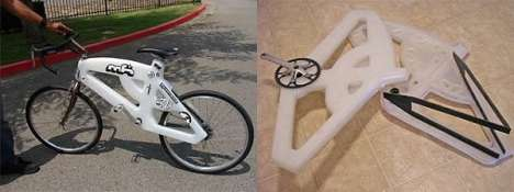 Plastic Recyclable Bikes