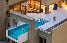 Urban Rooftop Pools - The Joule Hotel
