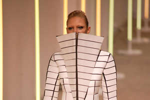 Gareth Pugh's Elizabethan and Shakespearian Couture