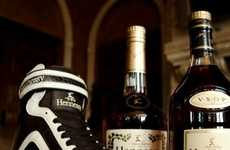 Cognac Sneakers - The Hennessy Celebration Hi-Top