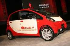 Eco Iceland Initiatives - Mitsubishi iMiEV Electric Car Program