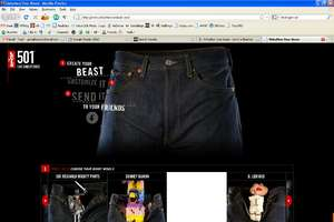 Release Your Beast in Levi's 501 Jeans
