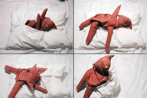 The Wollip-Bear Pillow