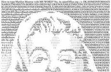 Typewritten Portraits