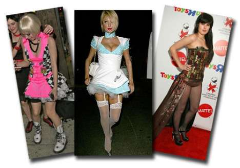 Red-Carpet Halloween Costumes