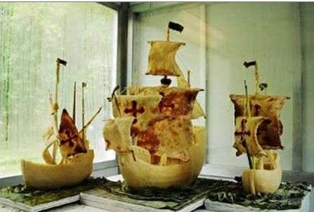10 Clever Food Sculptures