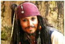 $64 Million Pirates - Johnny Depp in Pirates of the Caribbean 4