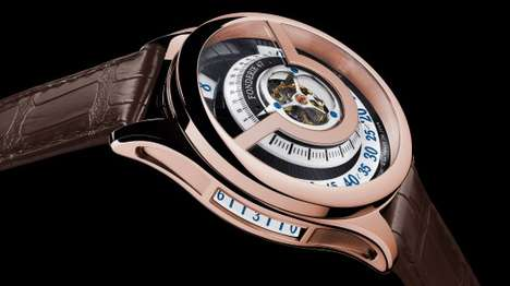 Weaponry-Woven Watches - The Fonderie 47 Inversion Principle Watch is Formed From Weapons