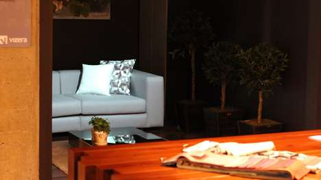 Projected Design Previews - The Smart Projection Device Helps With Upholstery and Furniture Shopping