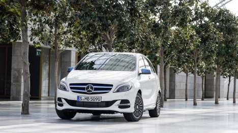 Upgraded Electric Cars - The Mercedes B-Class Electric Drive Has An Improved Engine