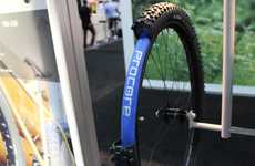 Dual-Chamber Bike Tires - The Schwalbe Procore Tubeless Tire Minimizes Flats & Improves Traction