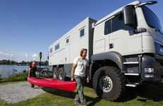 Behemoth Luxury Campers - The Action Mobil Global XRS 7200 Blends Ruggedness and Luxury