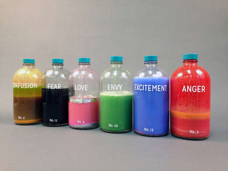 Literal Bottle Art - Artist Taylor Kinser Created Bottled Emotions and a Cheeky Tonic Guide