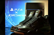 The JRDN 4 X PS4 Shoes Combine Two Well-Known Companies