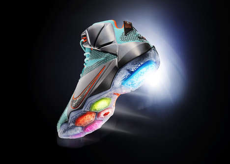 Airbag-Studded Shoes - The LeBron 12 is Designed For Maximum Explosiveness