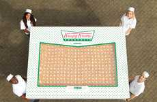 Gigantic Donut Boxes - Krispy Kreme's Big Box of Donuts Will Be Given Away to One Lucky Company