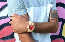 Wooden Hipster Watches - The Springbreak Wood Watches Combine Style and Eco-Consciousness